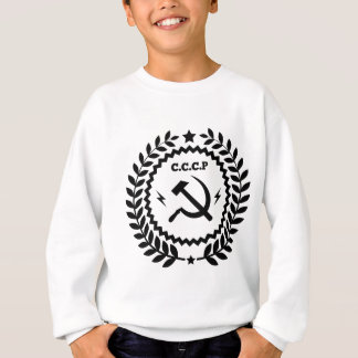 Communist CCCP Hammer Sickle Badge Sweatshirt