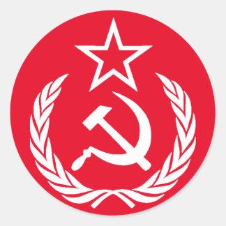 Communist Classic Round Sticker