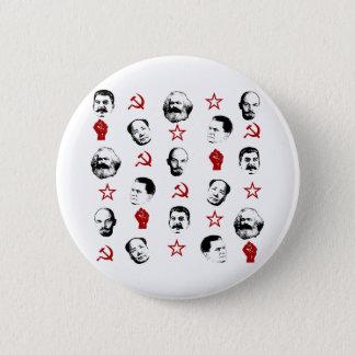 Communist Leaders 6 Cm Round Badge