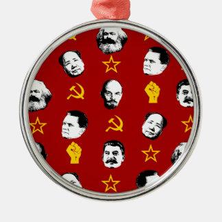 Communist Leaders Metal Ornament