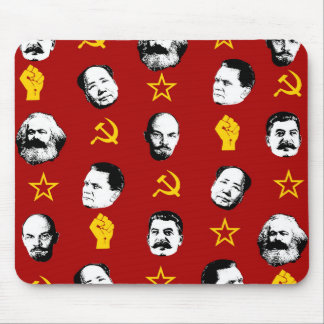 Communist Leaders Mouse Pad
