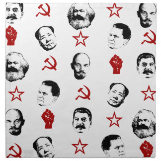 Communist Leaders Napkin