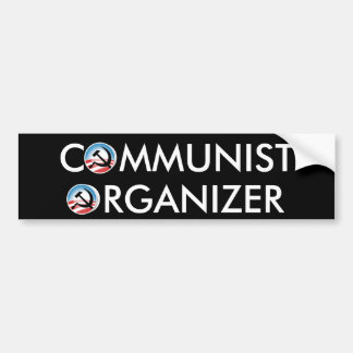 Communist Organizer Bumper Sticker