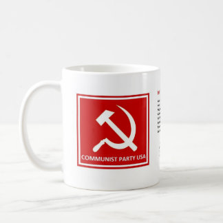 """Communist Party Mug with """"The Internationale"""""""
