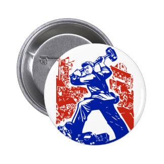 Communist Party of China Pinback Buttons