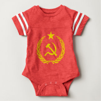 Communiste Cold War Flag Baby Bodysuit