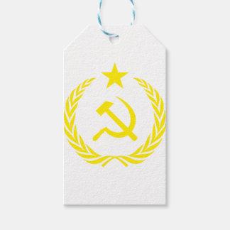 Communiste Cold War Flag Gift Tags