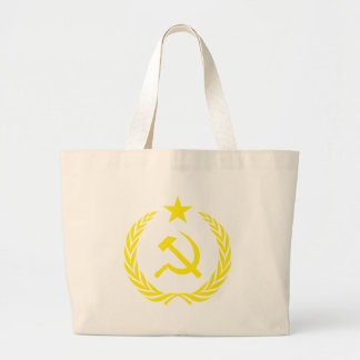 Communiste Cold War Flag Large Tote Bag