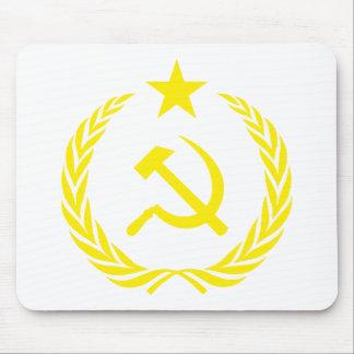 Communiste Cold War Flag Mouse Pad