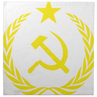 Communiste Cold War Flag Napkin