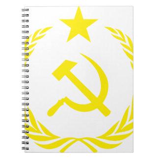 Communiste Cold War Flag Notebooks
