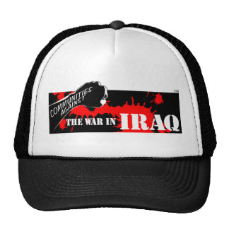 Communities Against the War in Iraq Mesh Hat