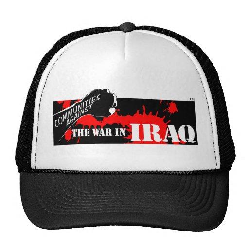 Communities Against the War in Iraq Mesh Hat