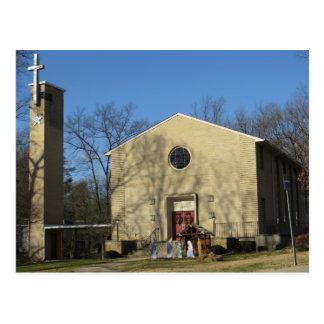 Community Church Postcard