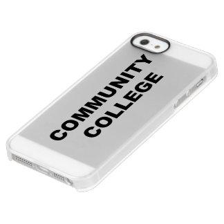 Community College Uncommon Permafrost® Deflector iPhone 5 Case