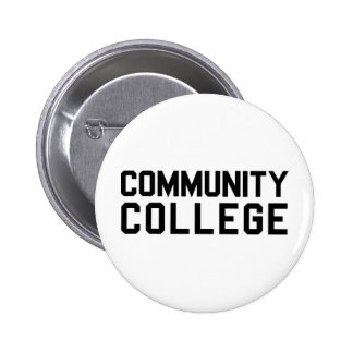 Community College Pinback Buttons