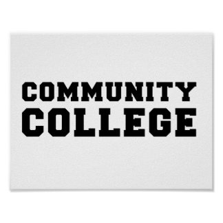Community College Pride Poster
