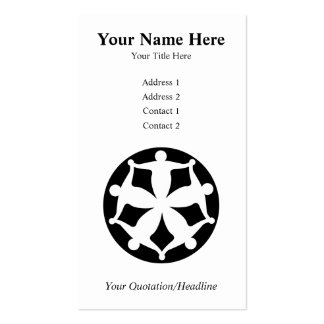 Community Group Business Card Template
