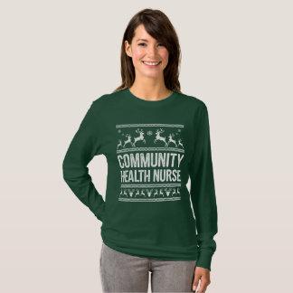 Community Health Nurse Ugly Christmas Sweater