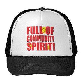 Community Life Mesh Hats