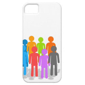 Community of people case for the iPhone 5