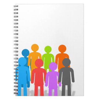 Community of people notebook