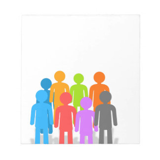 Community of people notepad
