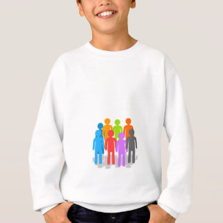 Community of people sweatshirt