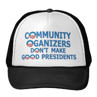 Community Organizer Obama Mesh Hats