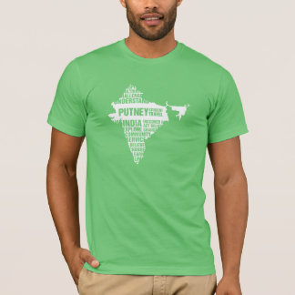 Community Service India in Multiple Colors T-Shirt