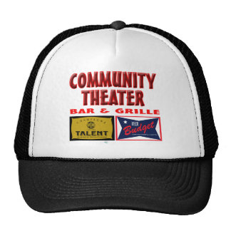 Community Theater Bar and Grill Hats