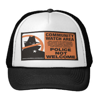 Community Watch Area Mesh Hat