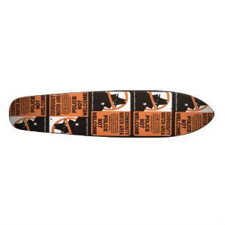 Community Watch Area Skate Board