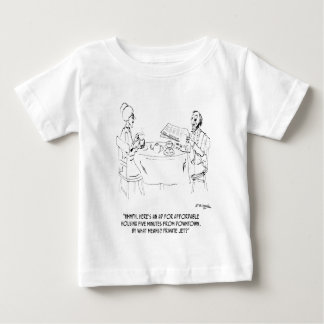 Commuting Cartoon 1098 Baby T-Shirt
