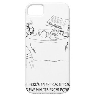 Commuting Cartoon 1098 Case For The iPhone 5