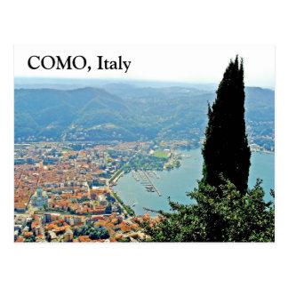 Como in Italy - Postcard