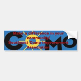 como logo, Make a difference in your community!... Bumper Sticker