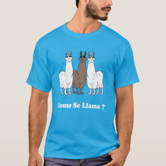 Como Se Llama? Funny Spanish Shirt What Is Your