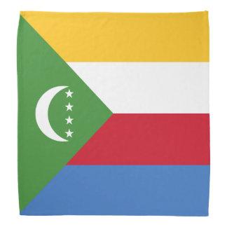 Comoros Flag Bandana