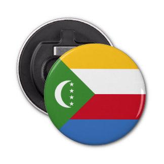 Comoros Flag Bottle Opener