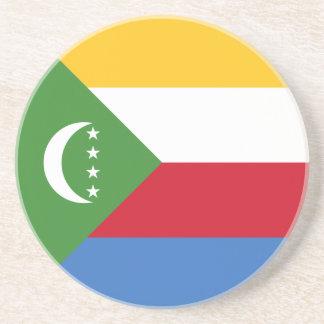 Comoros Flag Coaster