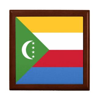 Comoros Flag Gift Box