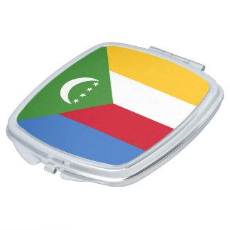 Comoros Flag Mirrors For Makeup