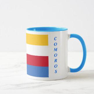 Comoros flag mug