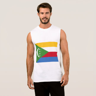 Comoros Flag Sleeveless Shirt