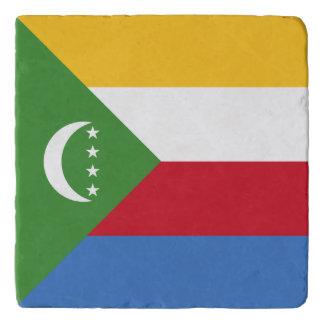 Comoros Flag Trivet