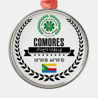 Comoros Metal Ornament