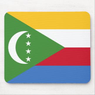 Comoros National World Flag Mouse Pad