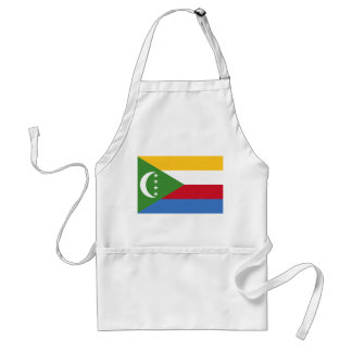 Comoros National World Flag Standard Apron