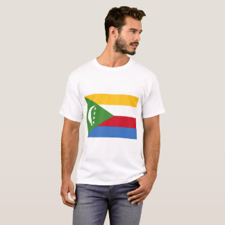 Comoros National World Flag T-Shirt